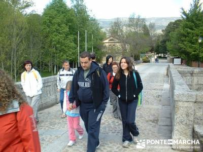 Senderitas en Puente del Perdón